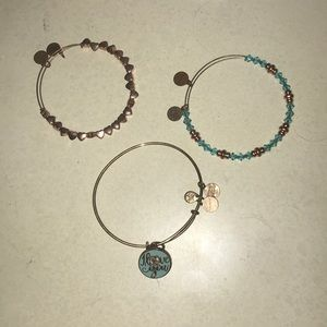 Alex and ani I love you bundle